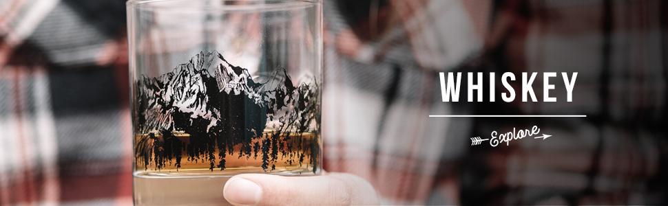 Black Lantern whiskey glasses