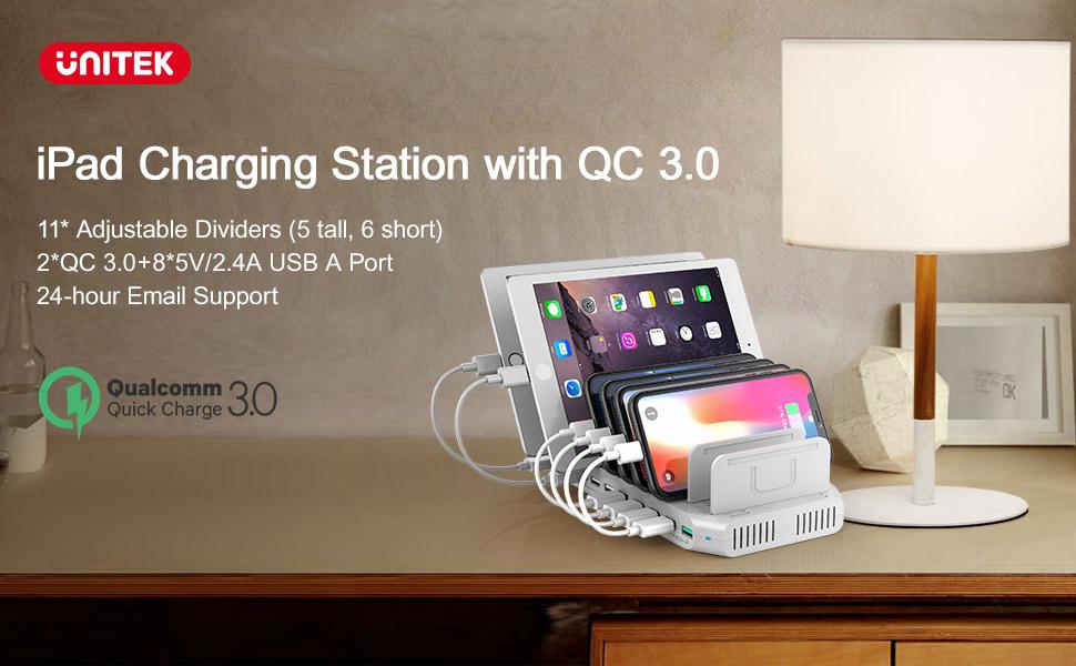 QC 3.0 charging station