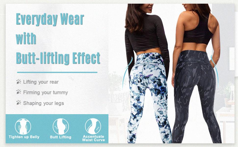 printed leggings for women