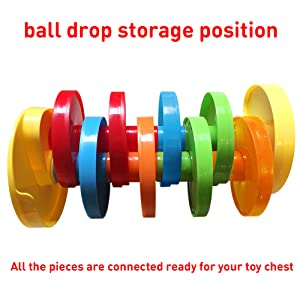 Ball Drop Storage Position