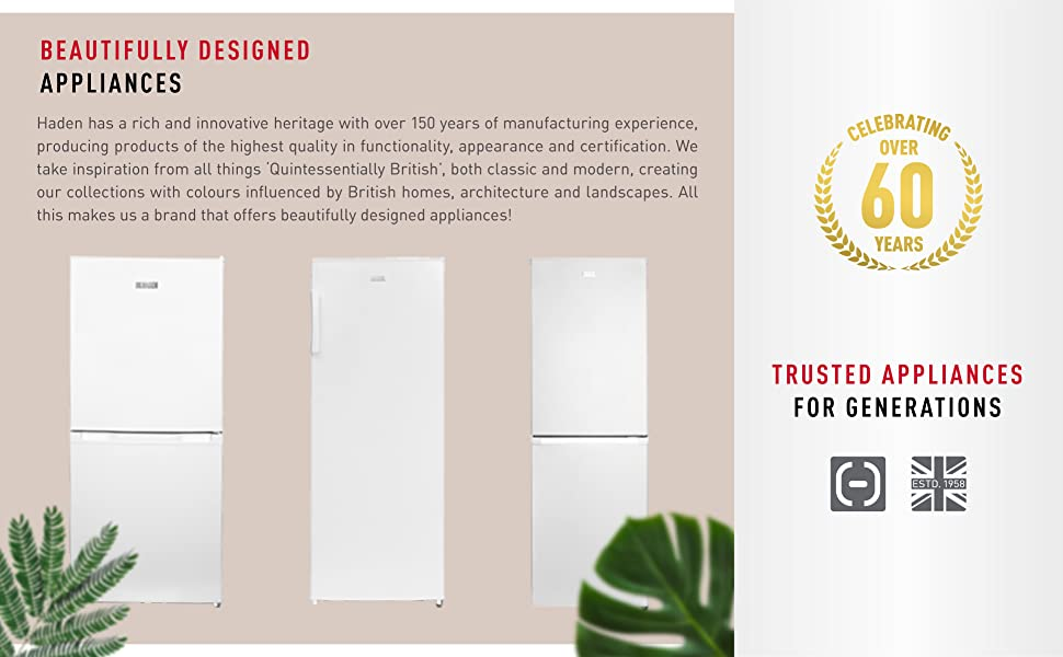 Freestanding fridge freezer