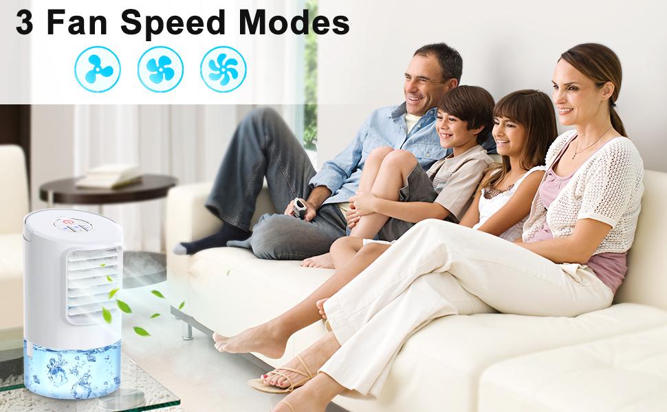 3 Fan Speed Modes