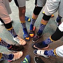 Net Basketball Socks