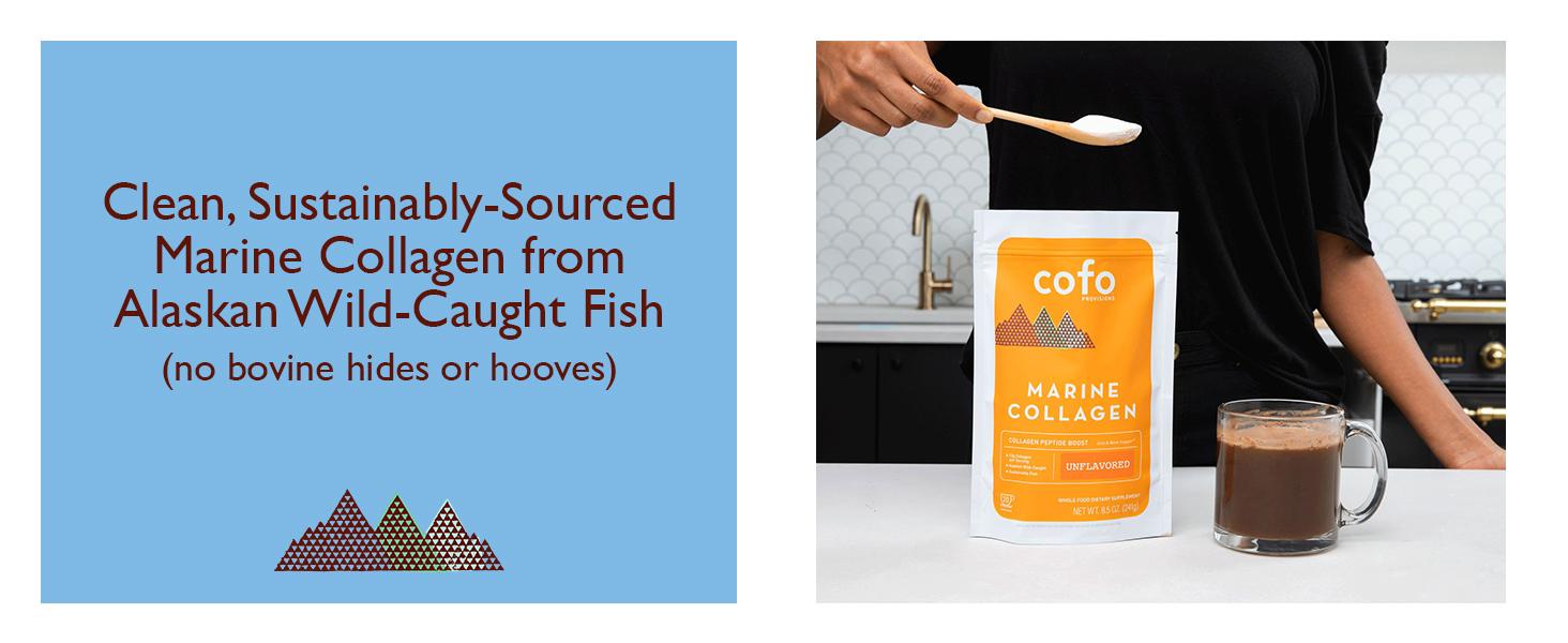 Marine Collagen, Fish Collagen, Cofo Provisions, Collagen for Women