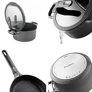 Berghoff Gem Nonstick Staycool Cookware