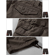 Men's  Cargo Shorts  summer gift comfort casual chino smart wear sports recreation fit slim camping