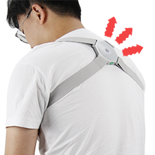 Vibration to alarm when Slouch