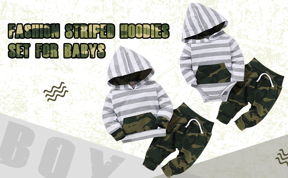 baby boy winter clothes hoodies set
