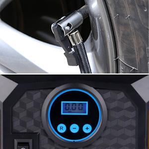 Mbuynow Compresor Aire Coche 12V, Compresor de Aire Coche Portatil 12V/100PSI para Bici/Coche/Motocicleta/Baloncesto Fútbol