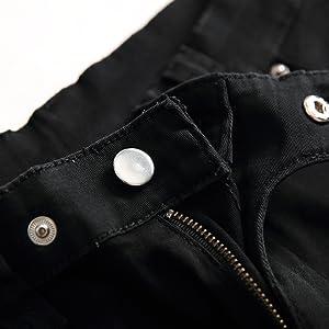 stretch jeans for men black skinny jean men ripped elastic jeans men slim fit jean men stretch waist