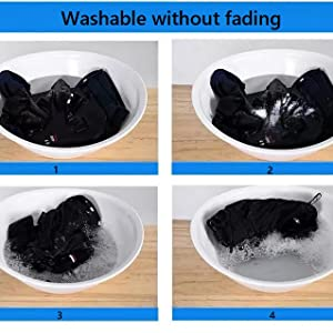 Washable without fading
