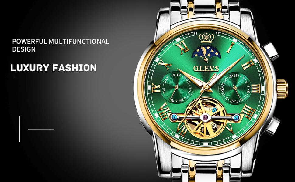 green watch for men