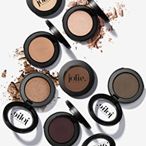 jolie cosmetics impeccable me vegan cruelty free gluten free paraben free eye shadow pearl shimmer