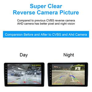 Support CVBS backup camera