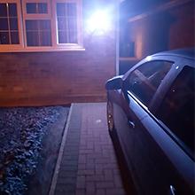 solar outdoor lights motion sensor