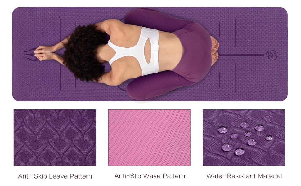 Anti-slip yoga mat