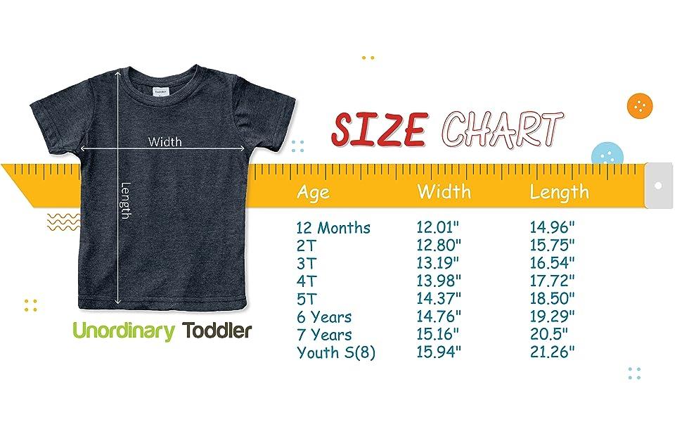 Size Chart - Boys