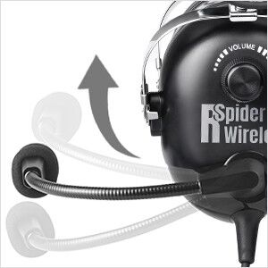 noise cancelling aviation headset