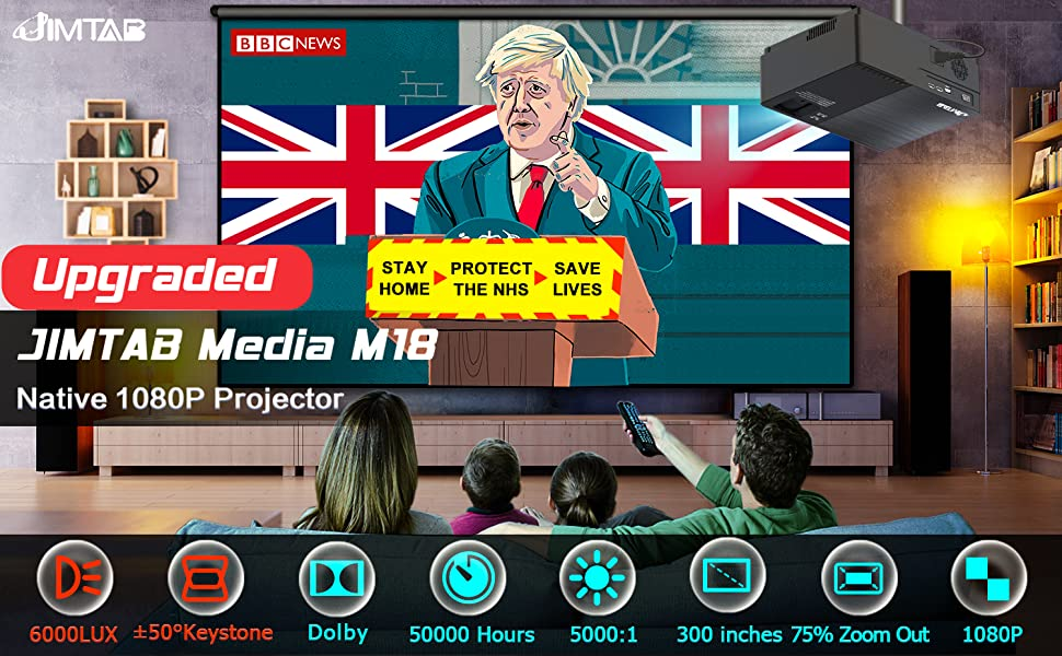 1080p native projector