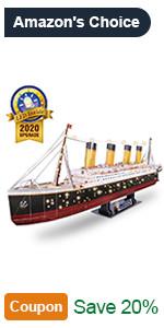 3d ship model puzzle gift for men