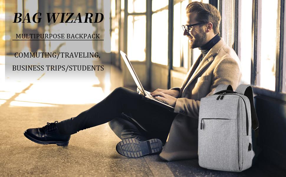 BAG WIZARD Laptop Backpack
