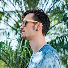 Cool C3 bamboo Polarized sunglasses