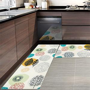 PVC Foam Cushioned Comfort Standing Mat non slip kitchen floor rugs