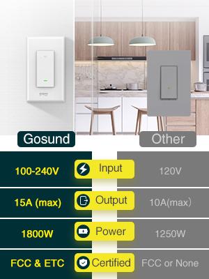 gosund with other smart switch