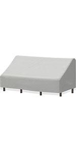 SimpleHouseware 3-Seater Deep Lounge Patio Sofa Cover
