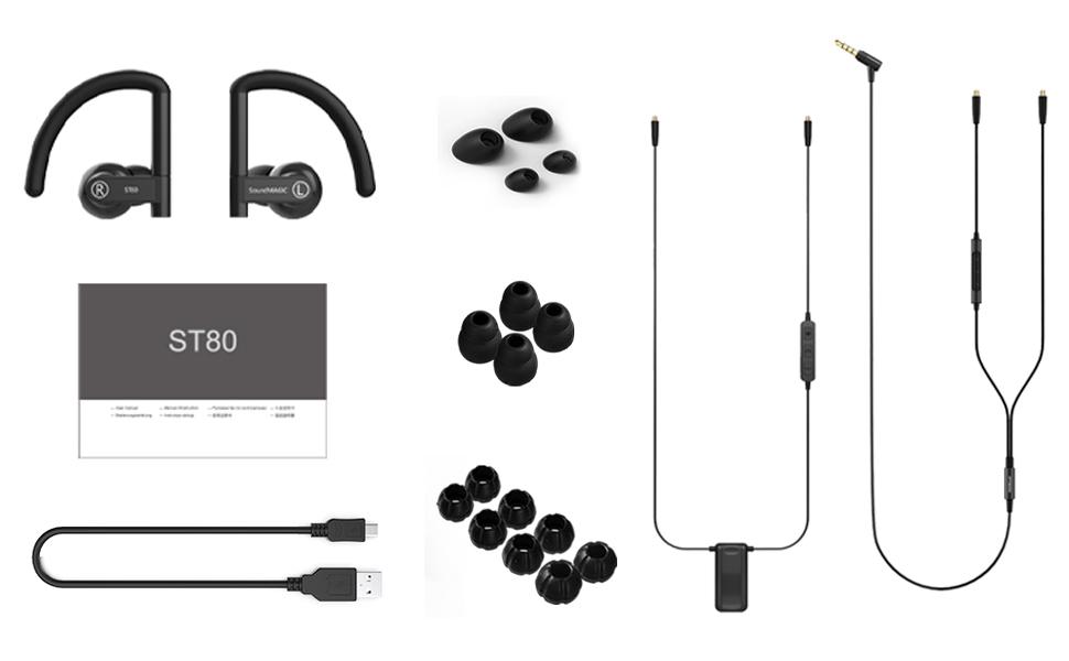 ST80 in ear headphone