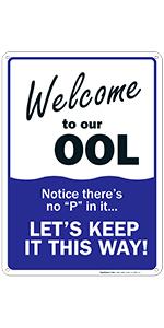 Pool Sign 2