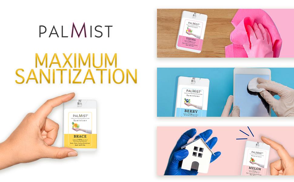 palmist multipurpose sanitizer
