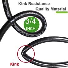 Kink Resistant & Smooth Water Flow