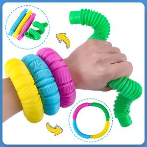 bendable pop tubes