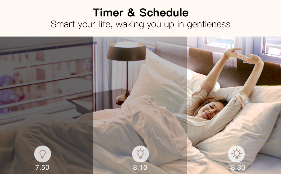 timer schedule sunrise and sunset