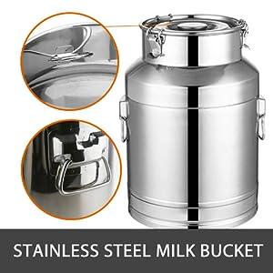 hantop milking machine bucket