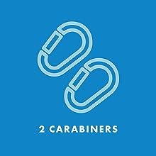 2 Carabiners