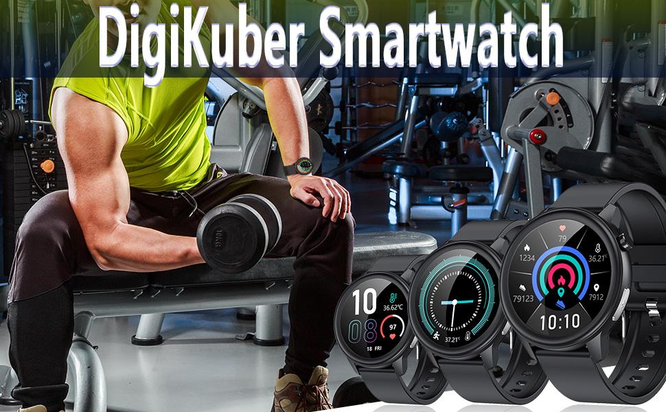 Smartwatch für Sport für Herren