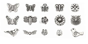 Tibetan Butterfly Dragonfly Insect Beads