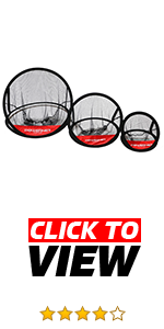 PowerNet 3 piece chipping nets are perfect to set up indoors or outdoors. Improve your chip shot.