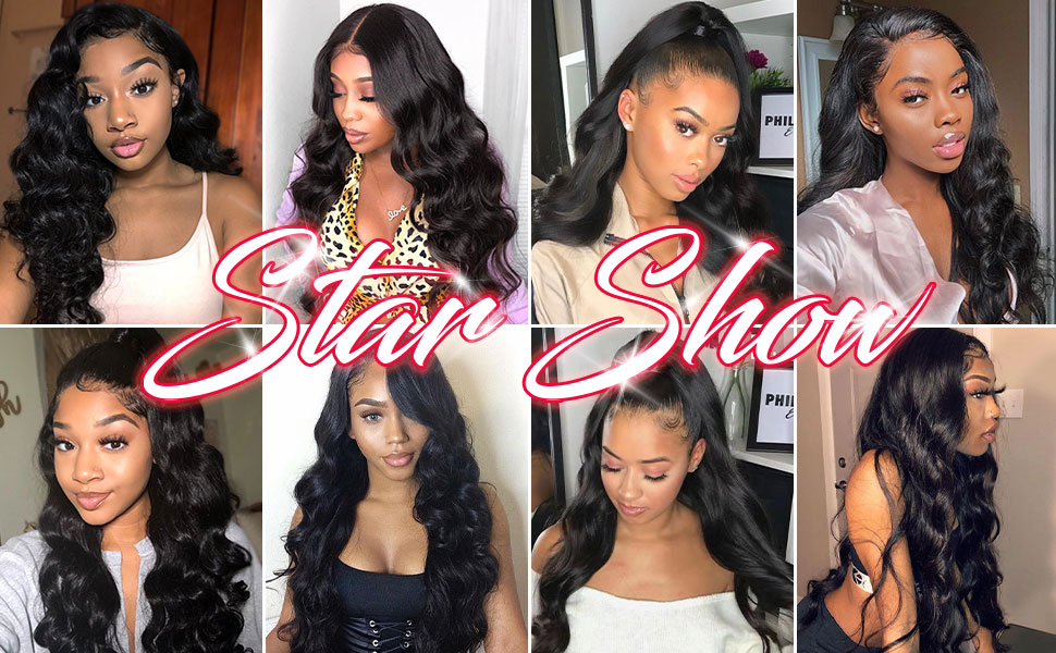 4X4 lace front wigs human hair pre plucked