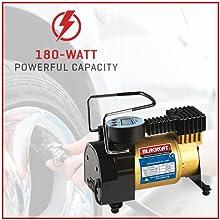 180-Watt Powerful Capacity