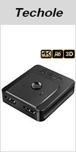 HDMI Switch 4K Bidirezionale