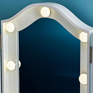 HD lighted mirror