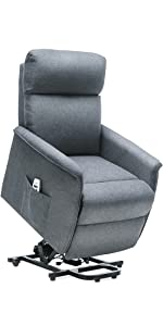 grey lift recliner