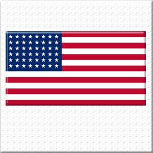 Gold Armour USA Flag