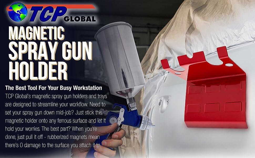TCP Global Magnetic Spray Gun Holder