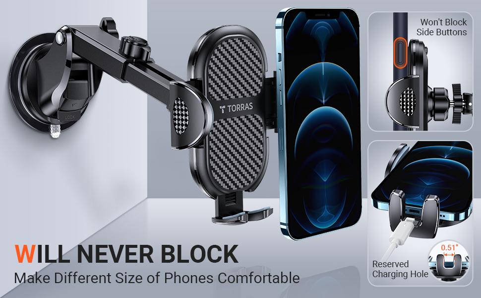 Will never block