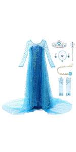 JerrisApparel Niña Disfraz de Princesa Sofía Tul Cumpleaños ...
