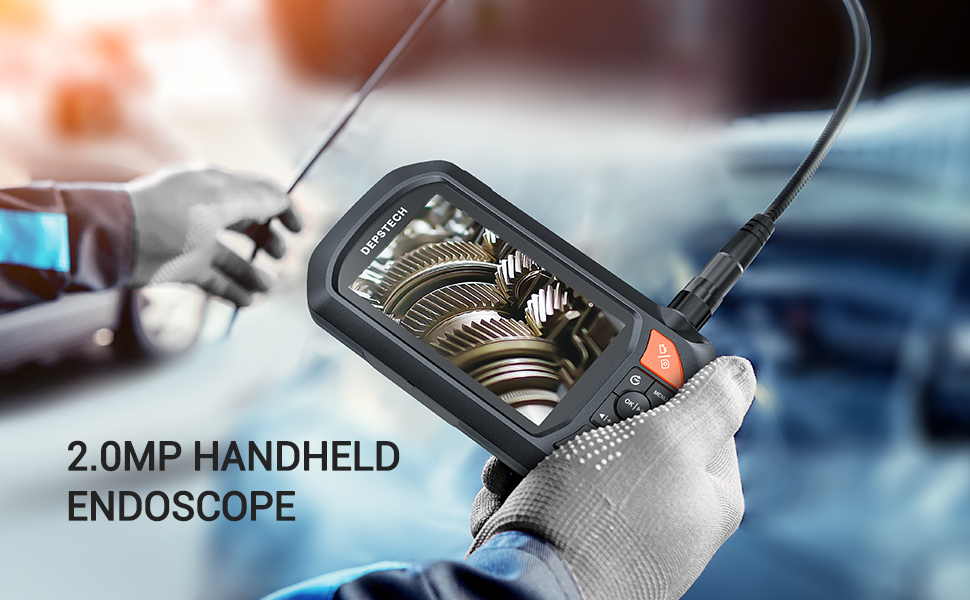 Handheld endoscope